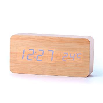 reveil bois design