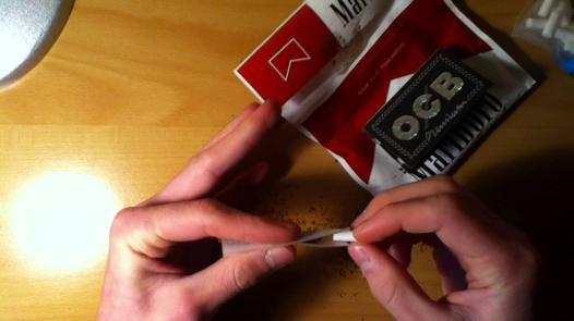 rouler des cigarettes