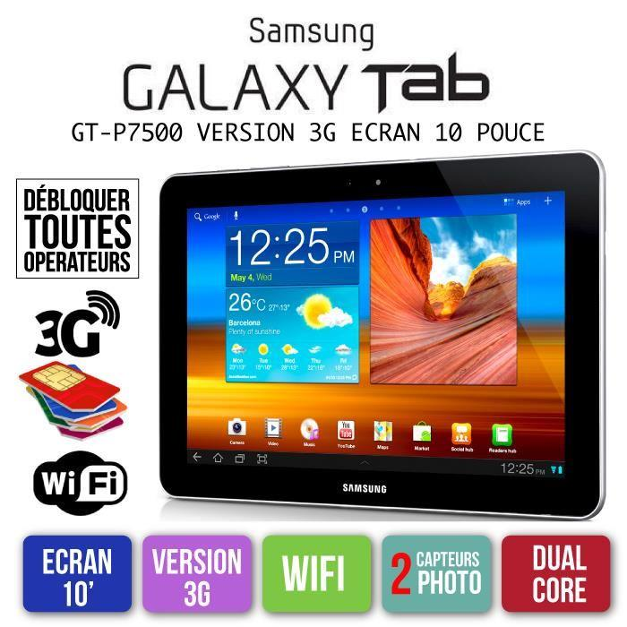 samsung tablette 10 pouces