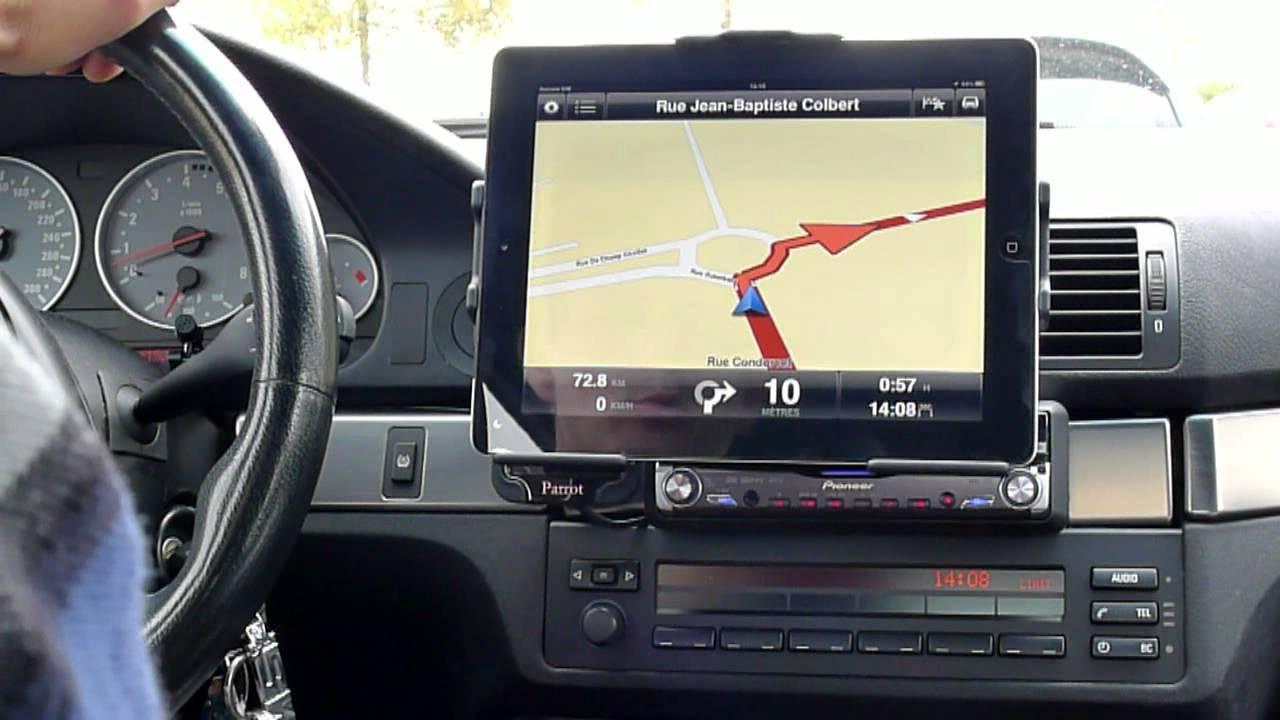 support ipad mini voiture