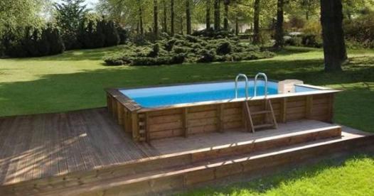 sur piscine hors sol