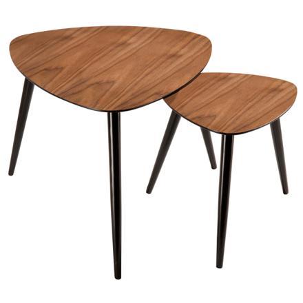table basse scandinave bois