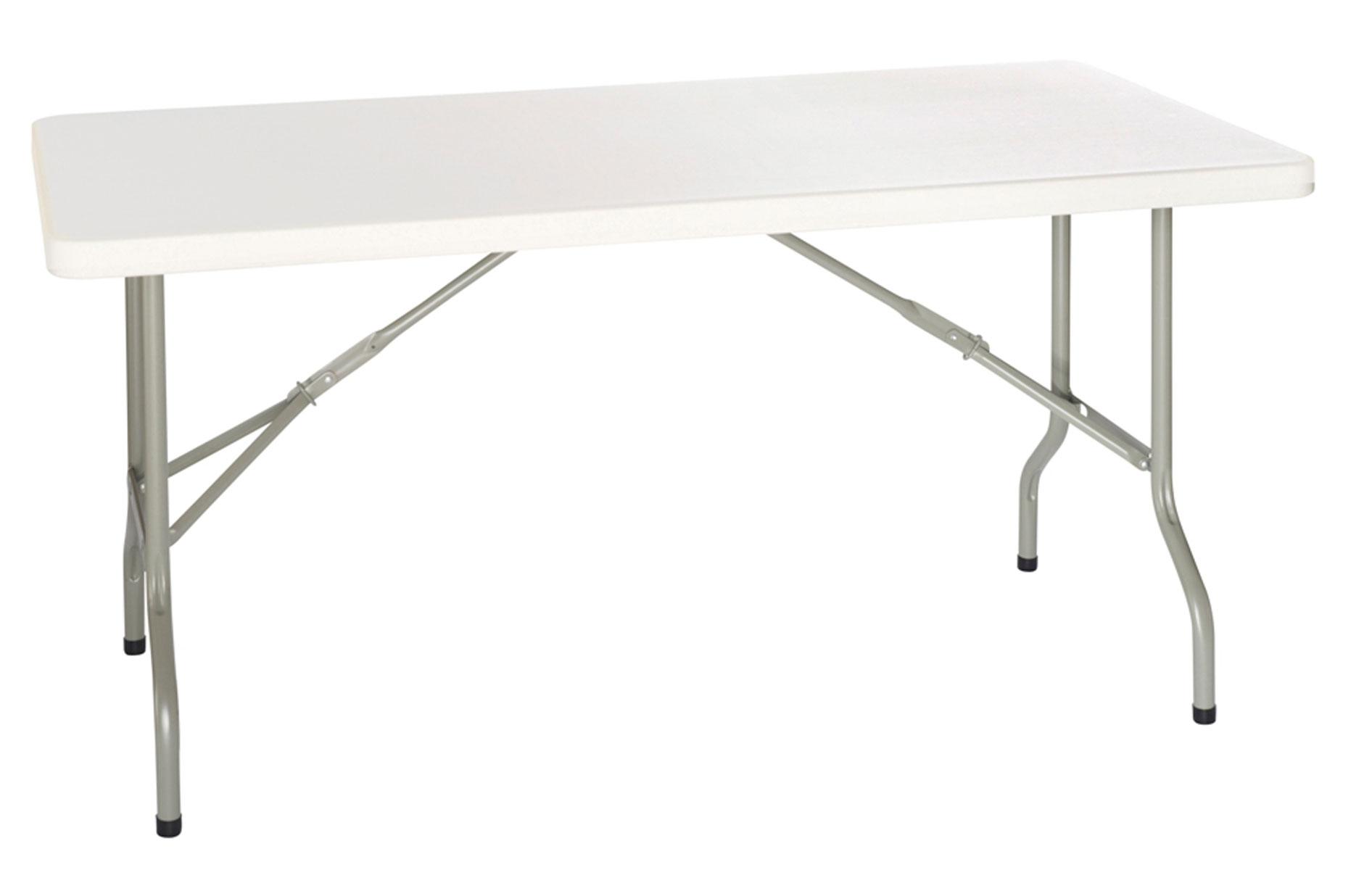 table pliable plastique