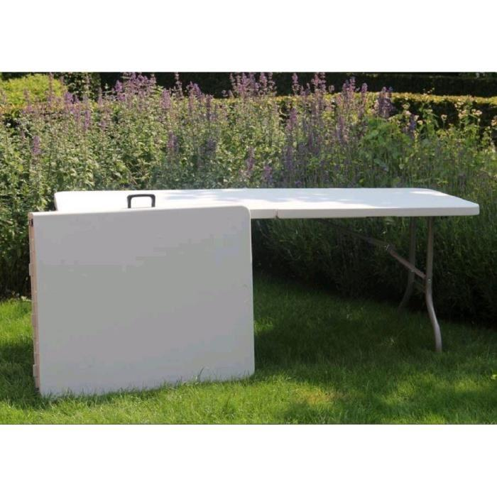 table pliante transportable