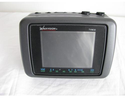 television portable a pile