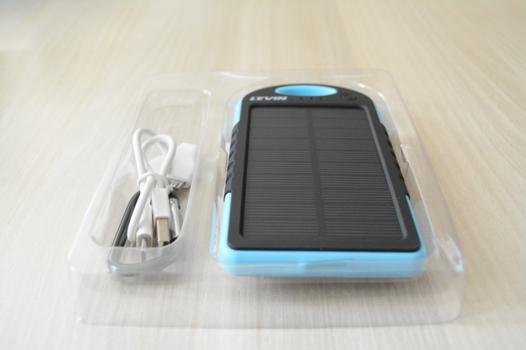test batterie solaire