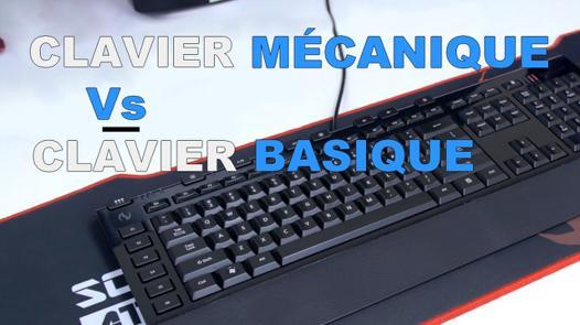 test clavier mecanique