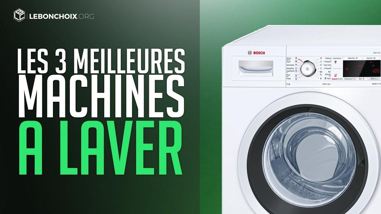 test machine à laver