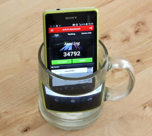 test xperia z1 compact