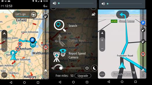 tomtom gps android