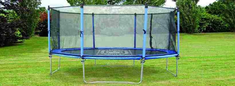 trampoline decathlon avec filet